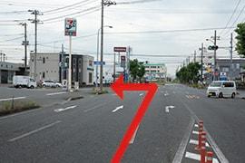 さくら都市 君津支店 交通案内(君津駅より)3.道なりに約3km進み、セブンイレブンを左折